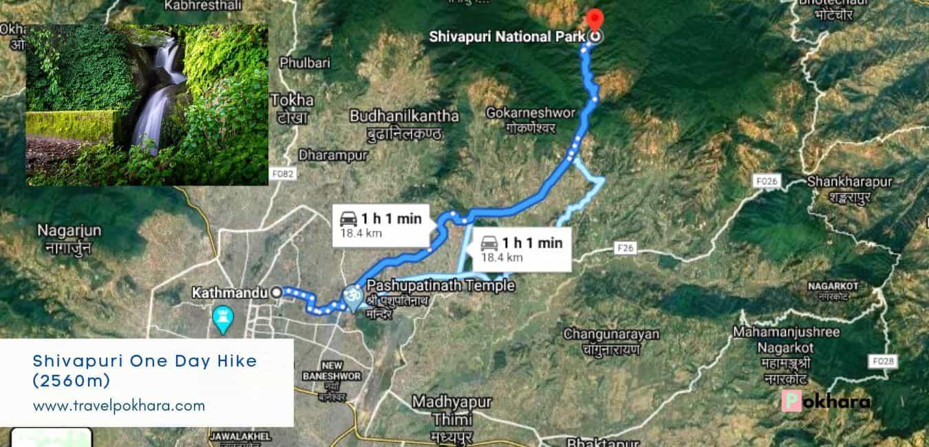 Shivapuri one day Hike near kathmandu