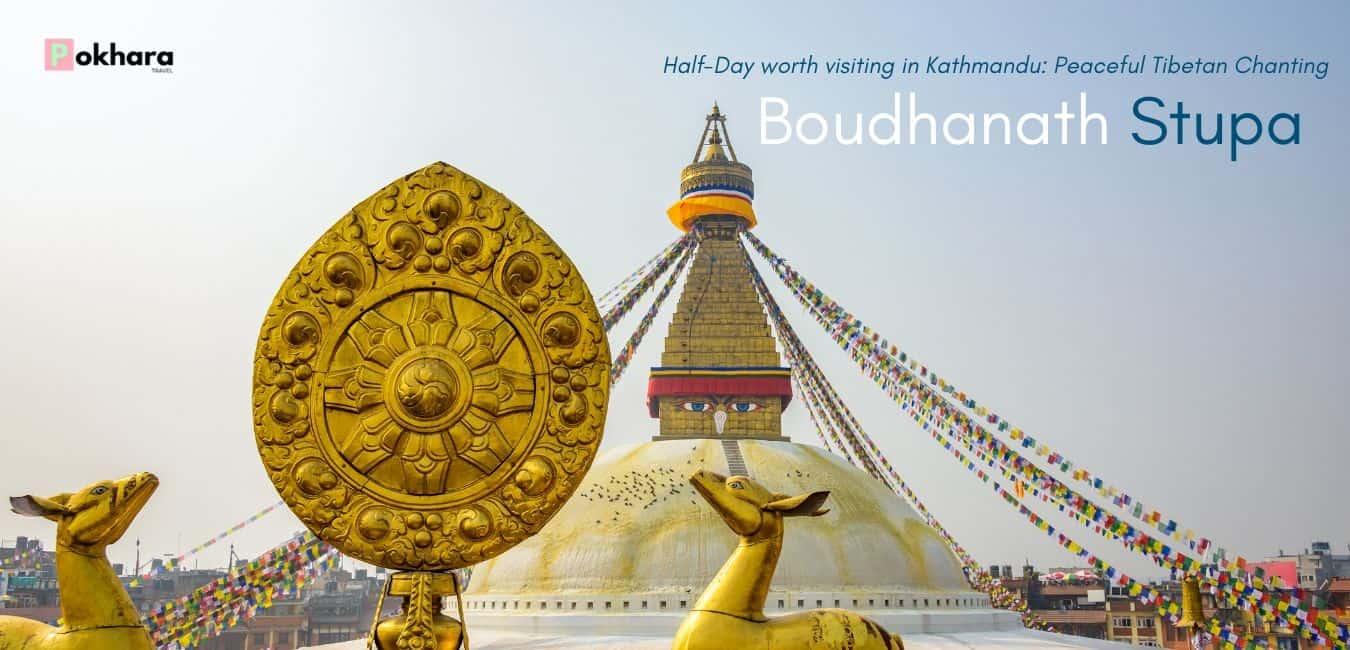 Boudhanath Stupa, the great white stupa at Boudhanath